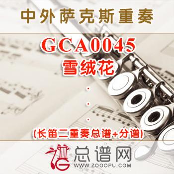 GCA0045.雪绒花 长笛二重奏总谱+分谱